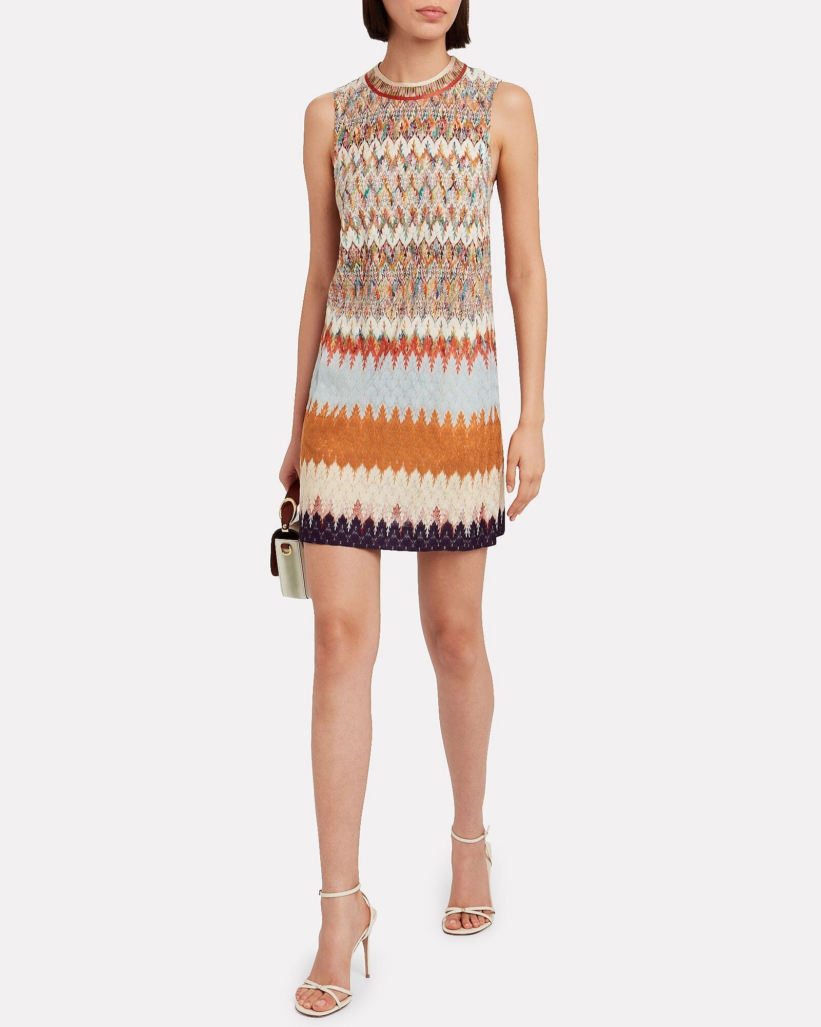 MISSONI Jacquard Knit Shift Dress
