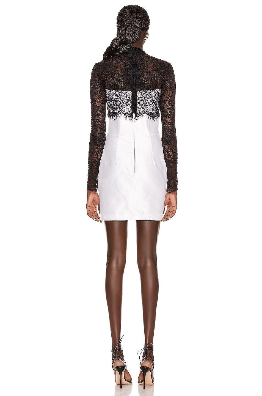 RASARIO Lace Corset Mini Dress