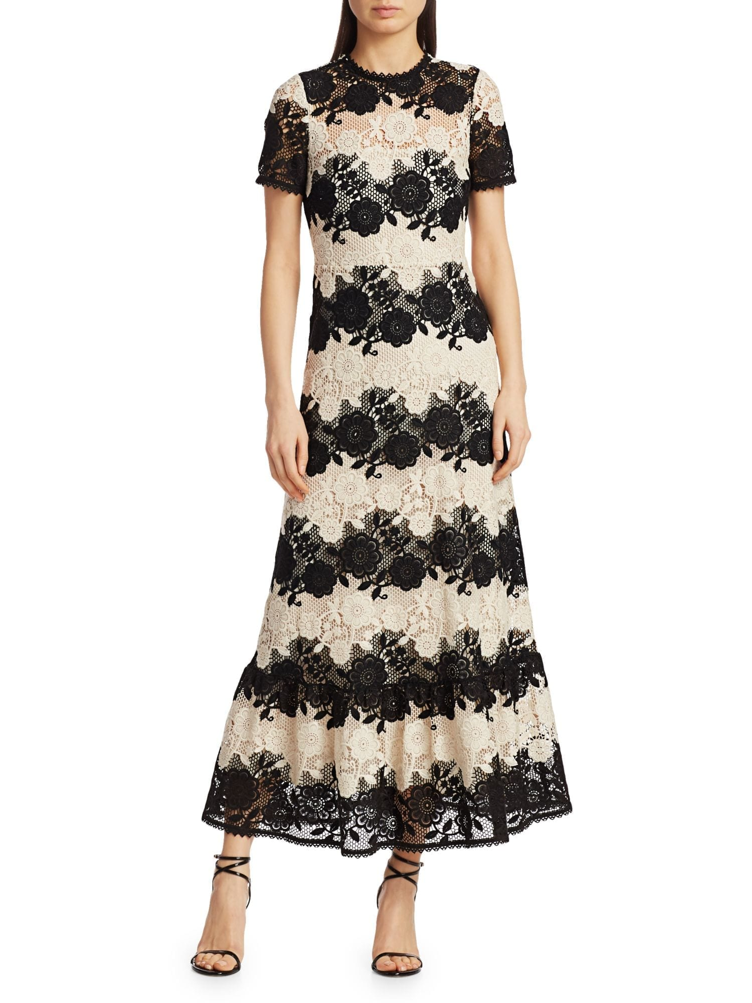 REDVALENTINO Lace A-Line Dress