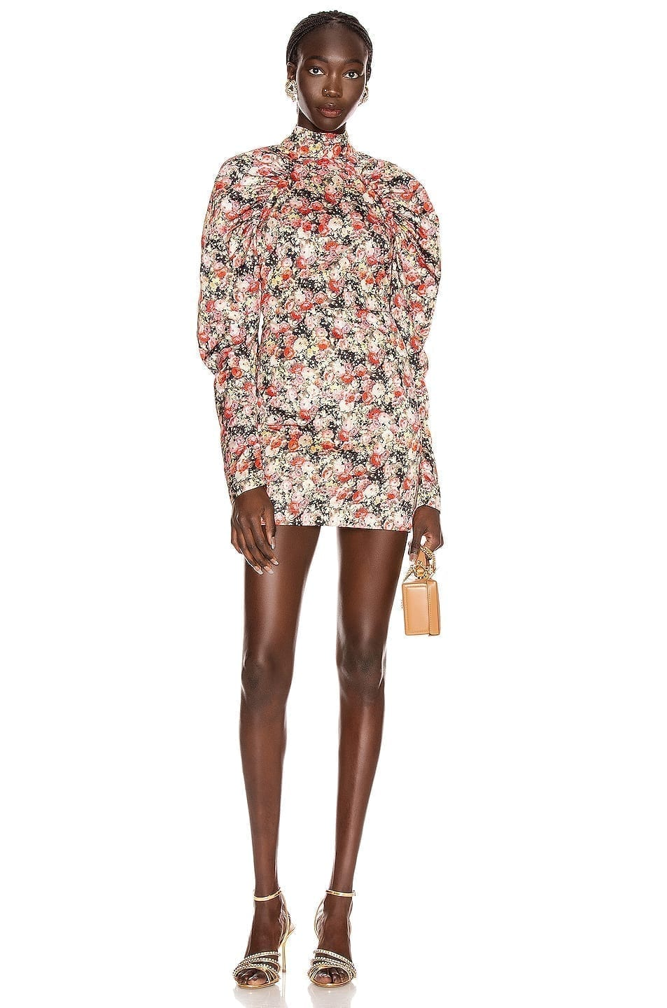 ROTATE Kim Floral Mini Dress