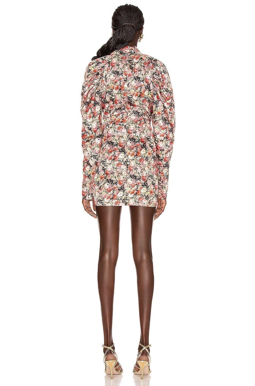 ROTATE Kim Floral Mini Dress