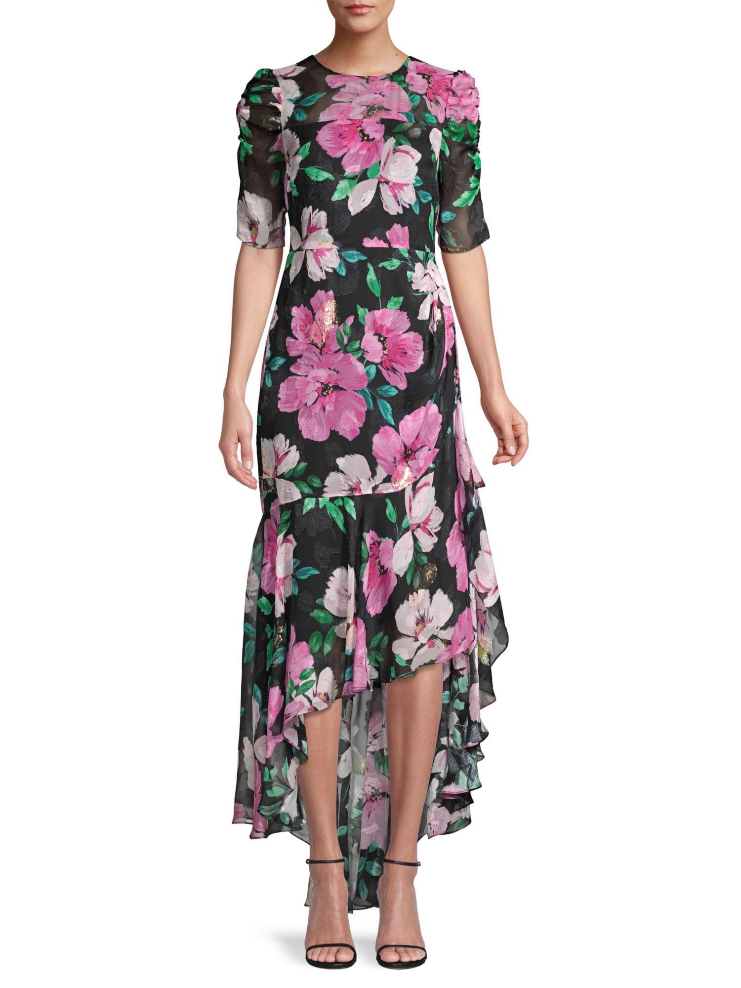 SHOSHANNA Joya Bloom Dress