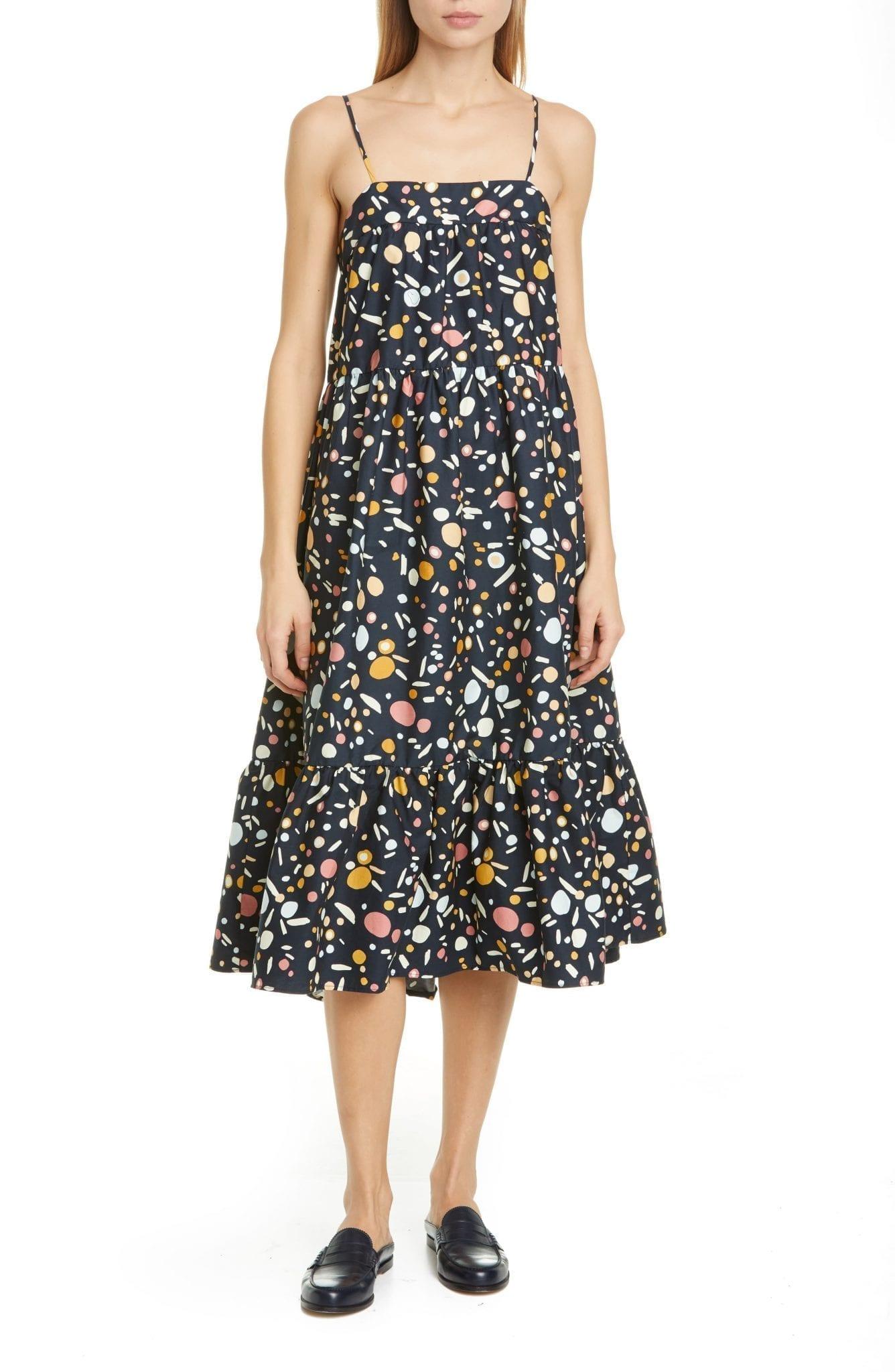 SIMON MILLER Pumpa Print Sun Dress