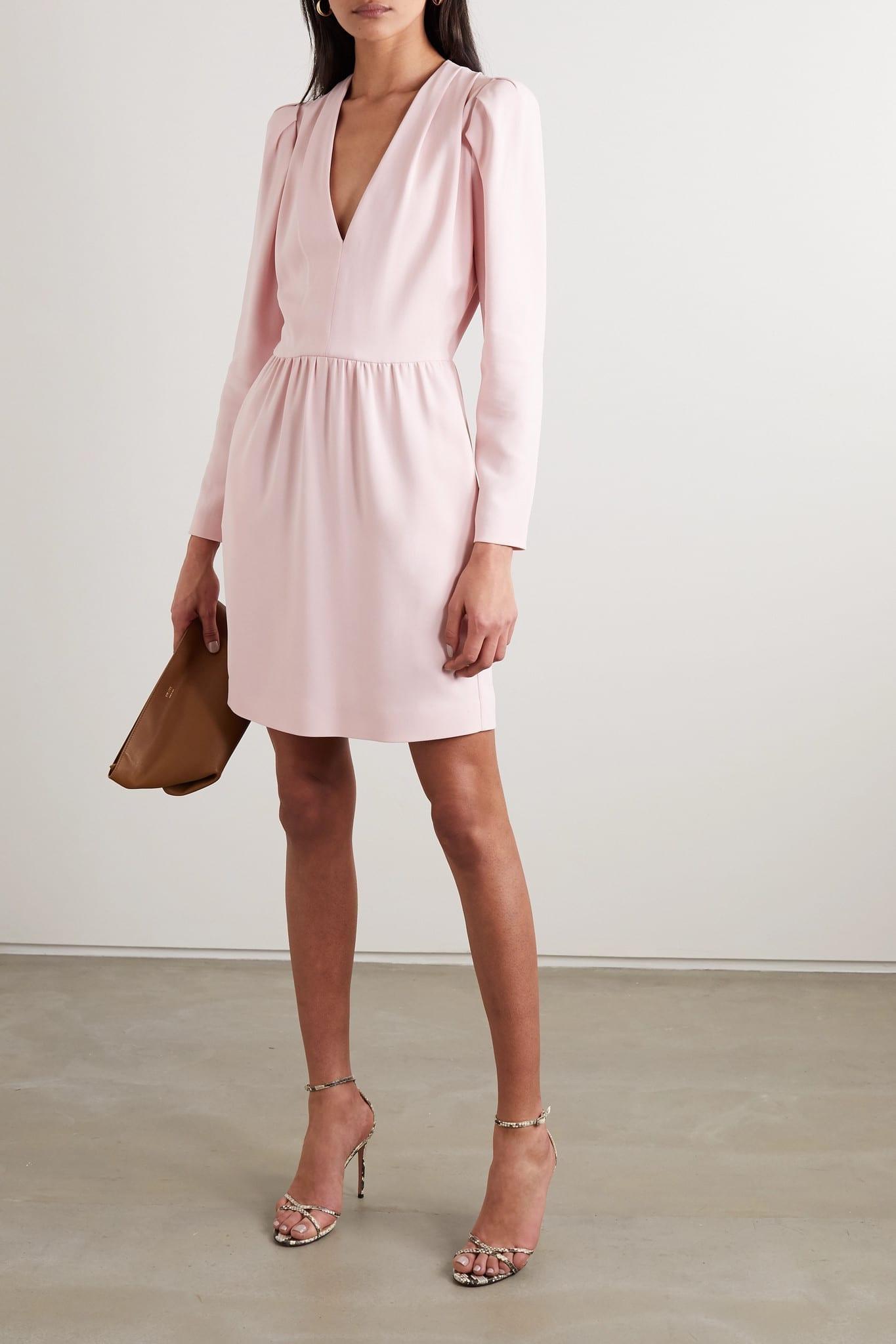 STELLA MCCARTNEY + Net Sustain Stretch-cady Mini Dress