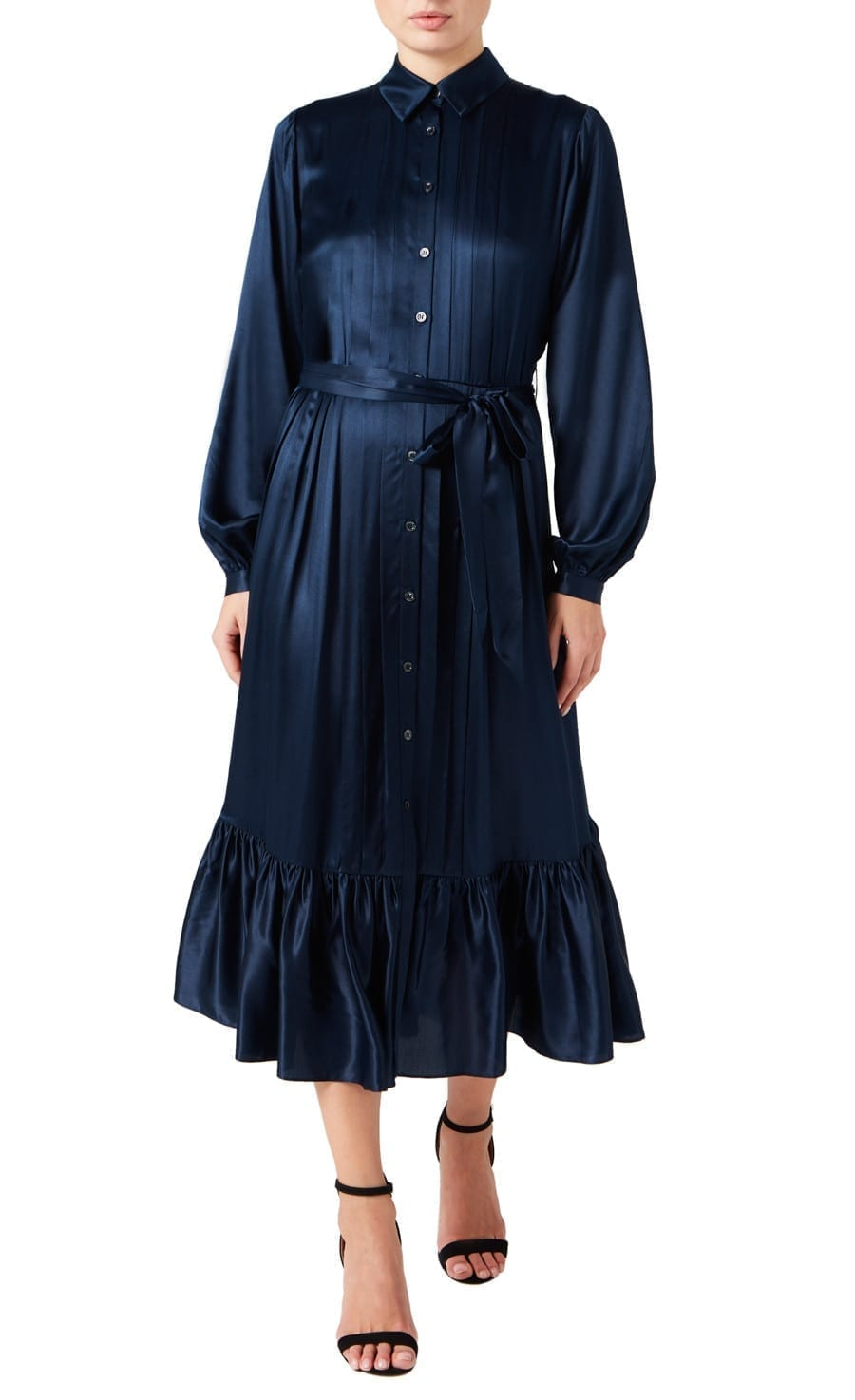 TEMPERLEY LONDON Birdie Shirt Dress