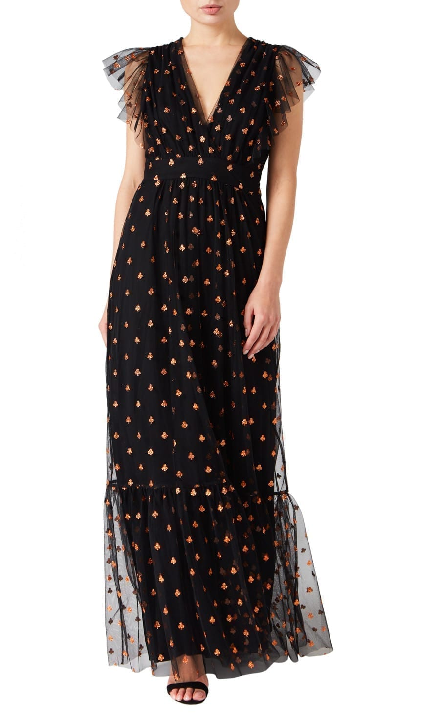TEMPERLEY LONDON Fortuna Long Dress