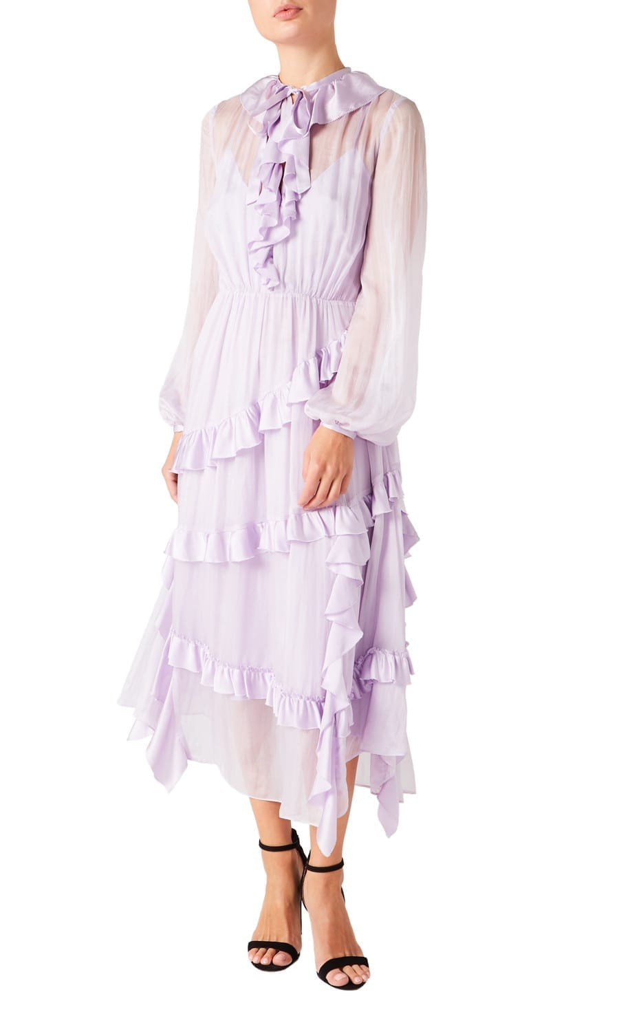TEMPERLEY LONDON Penny Tie Dress
