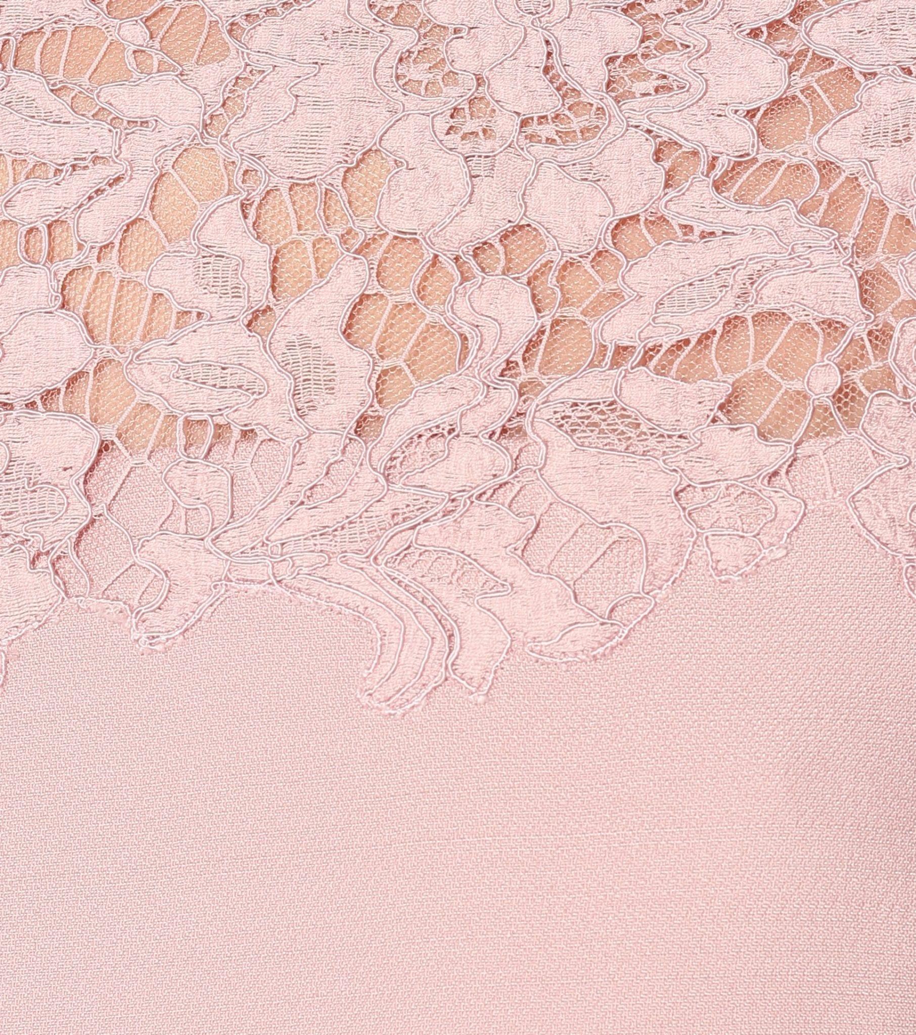 VALENTINO Lace And Crêpe Dress