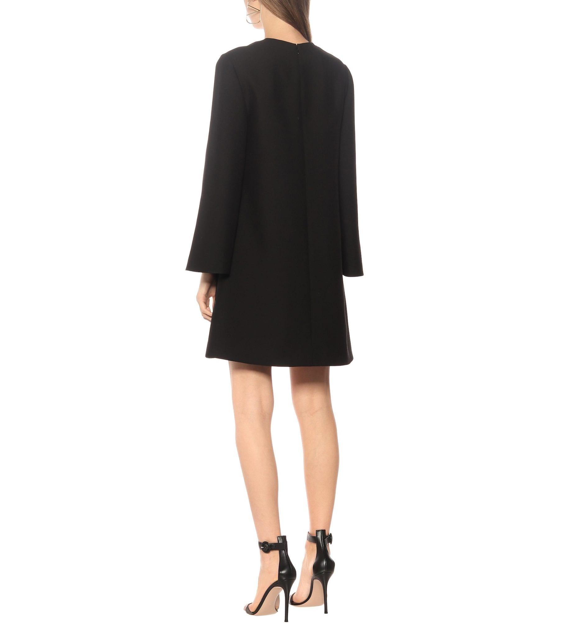 VALENTINO Silk-Crêpe Mini Dress