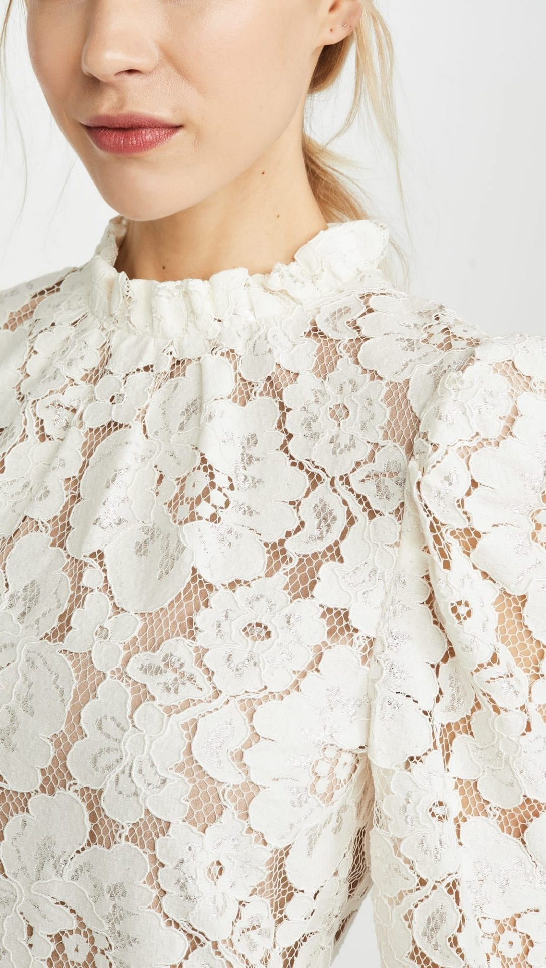 WAYF Emma Puff Sleeve Dress