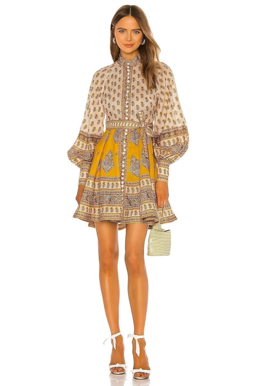 ZIMMERMANN Bonita Buttoned Dress