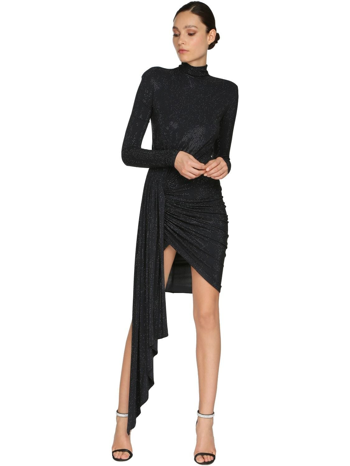 ALEXANDRE VAUTHIER Embellished Jersey Mini Dress