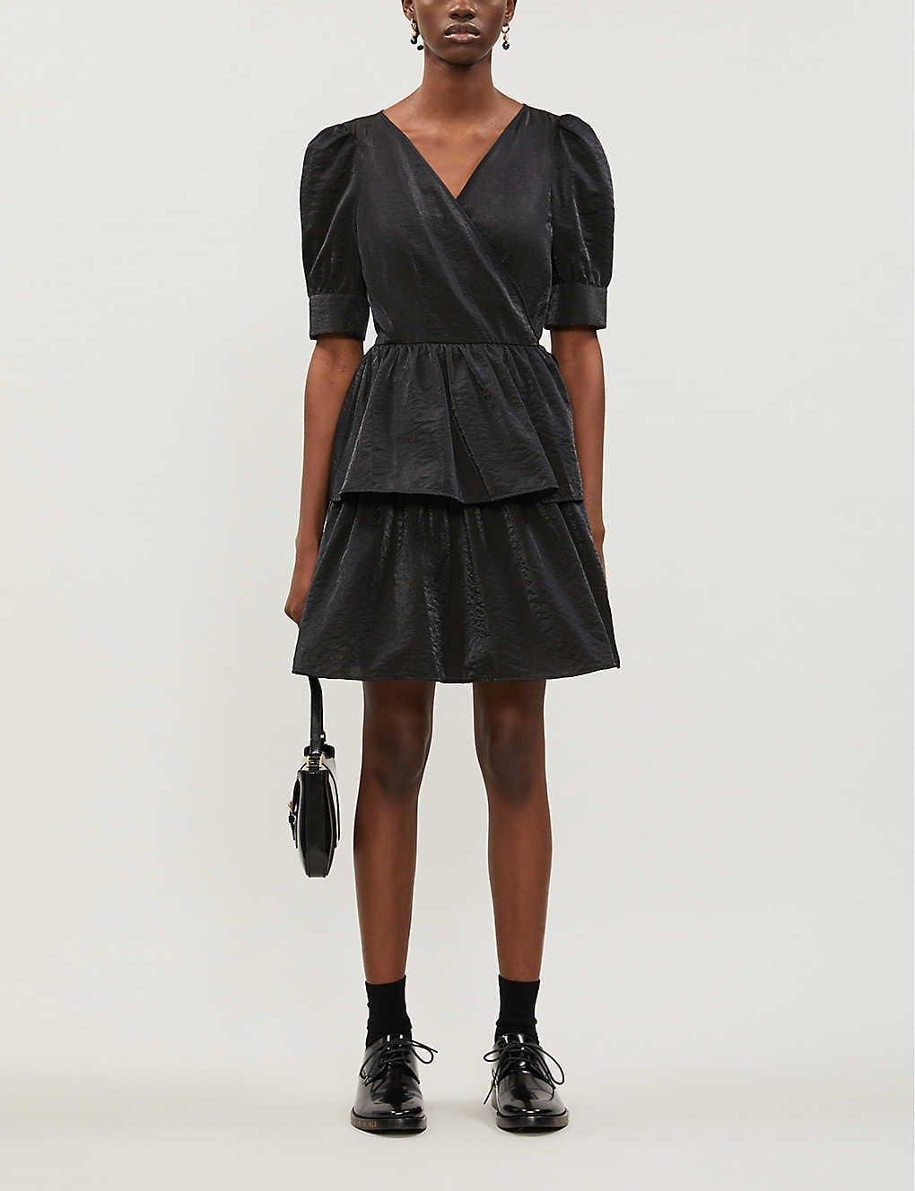 BAUM UND PFERDGARTEN Akiima Taffeta Mini Dress