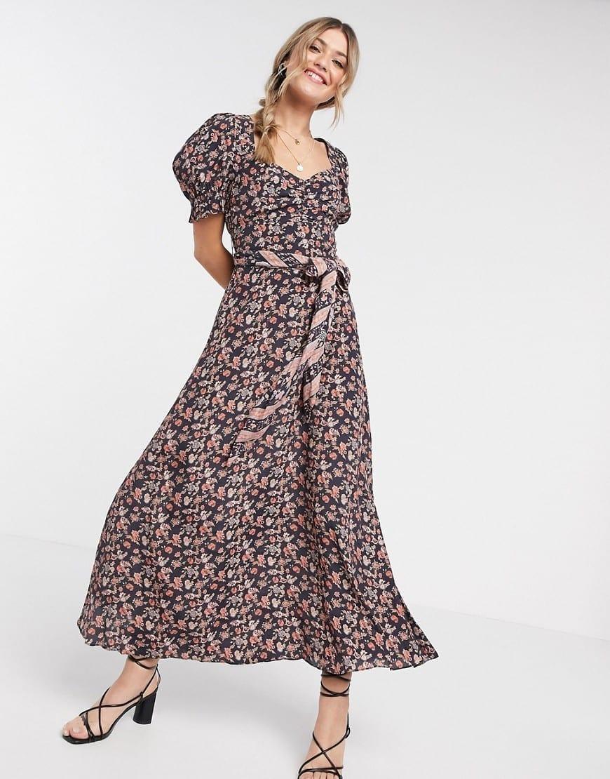 CLEOBELLA Carly Floral Midi Dress