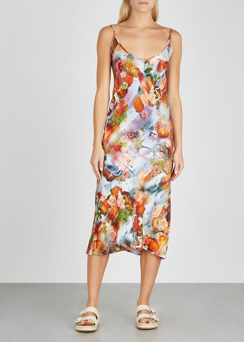 COLLINA STRADA X Charlie Engman Barbarella Midi Dress