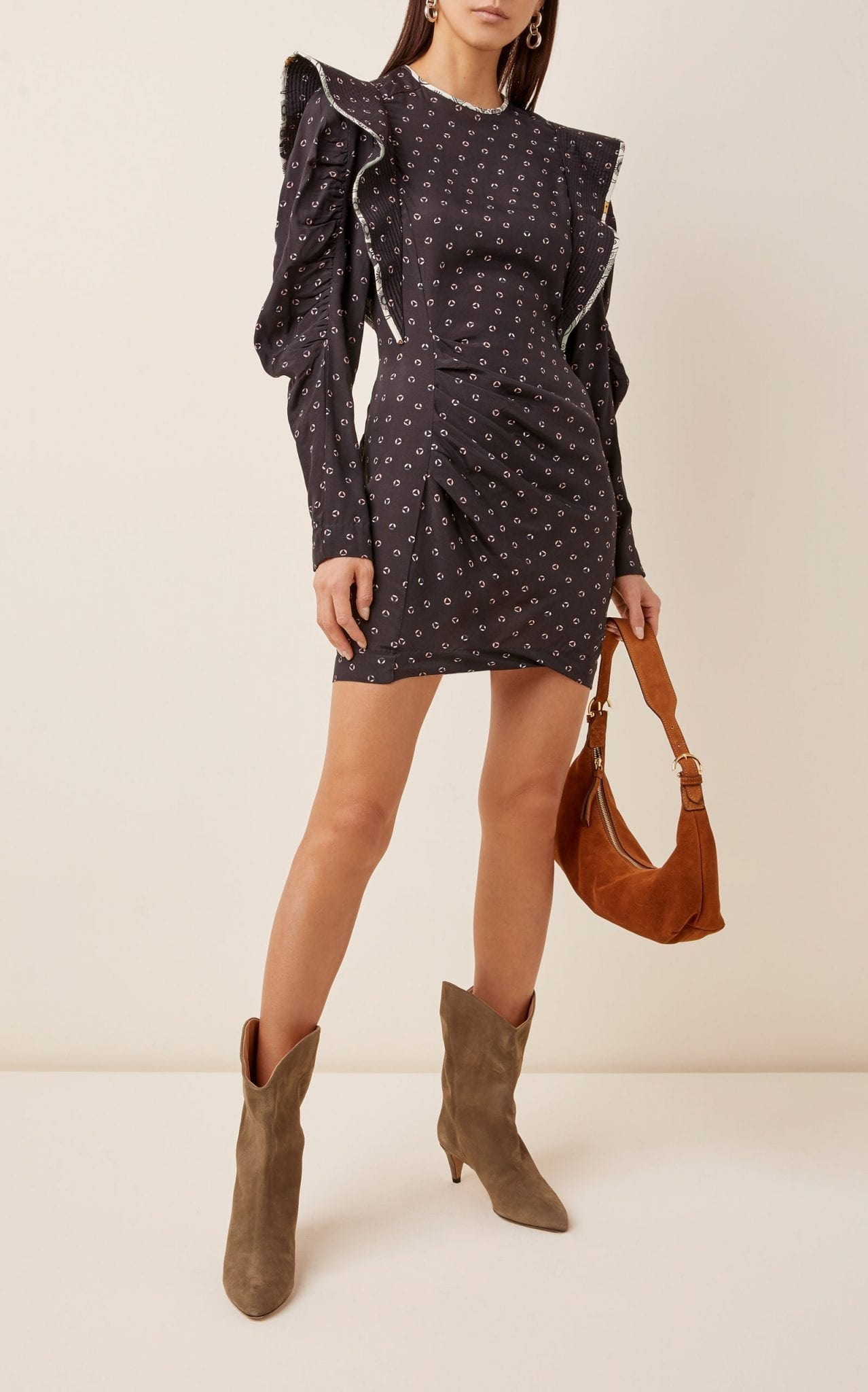 ISABEL MARANT ÉTOILE Catarina Floral Poplin Dress