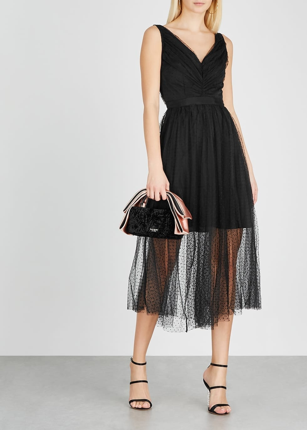 KEEPSAKE See You Black Tulle Dress