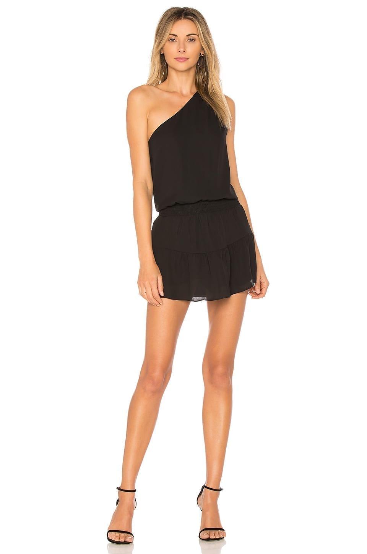 KRISA One Shoulder Ruffle Dress