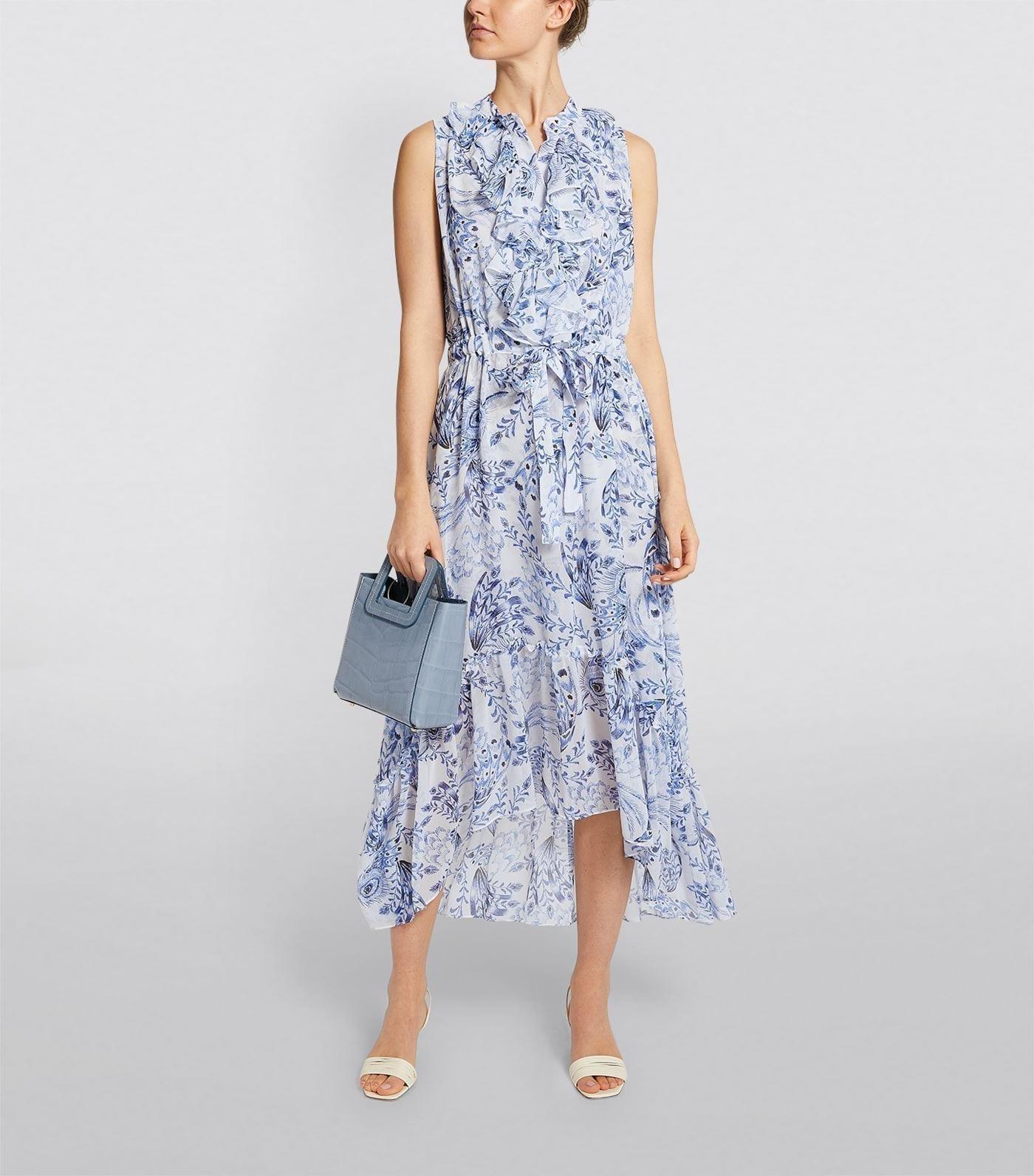 MISA LOS ANGELES Audra Asymmetric Hem Dress
