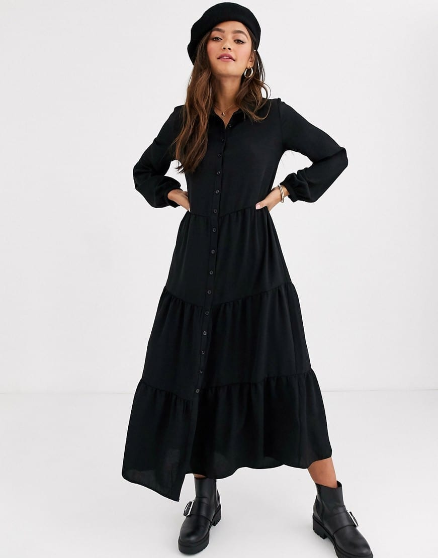 NEW LOOK Maxi Shirt Dress