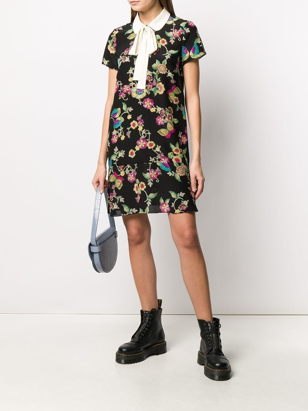 REDVALENTINO Floral Butterfly-print Dress