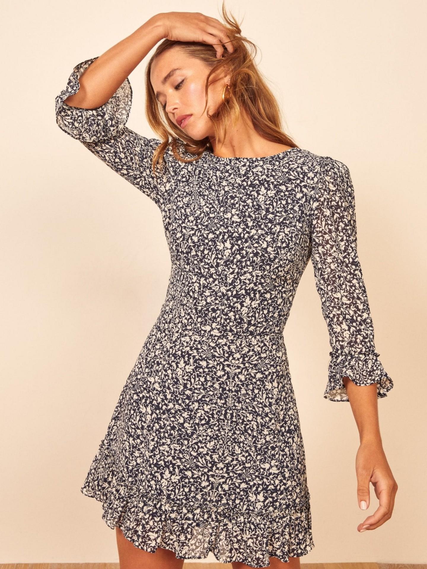 REFORMATION Doutzen Dress