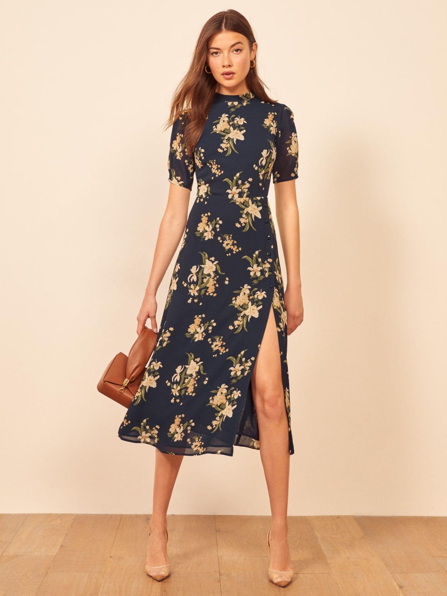 REFORMATION Gio Dress