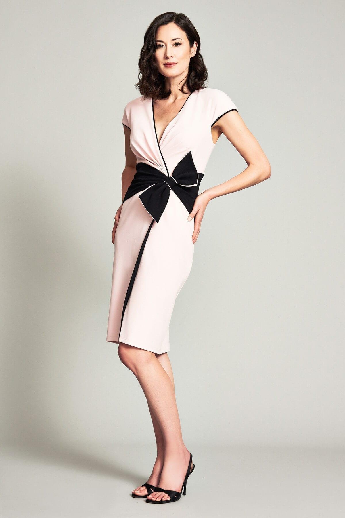 TADASHI SHOJI Arisu Obi-inspired Dress