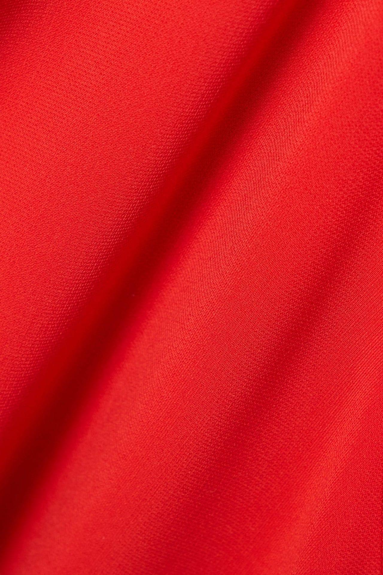 TALBOT RUNHOF Bouklee Ruched Stretch-crepe Midi Dress