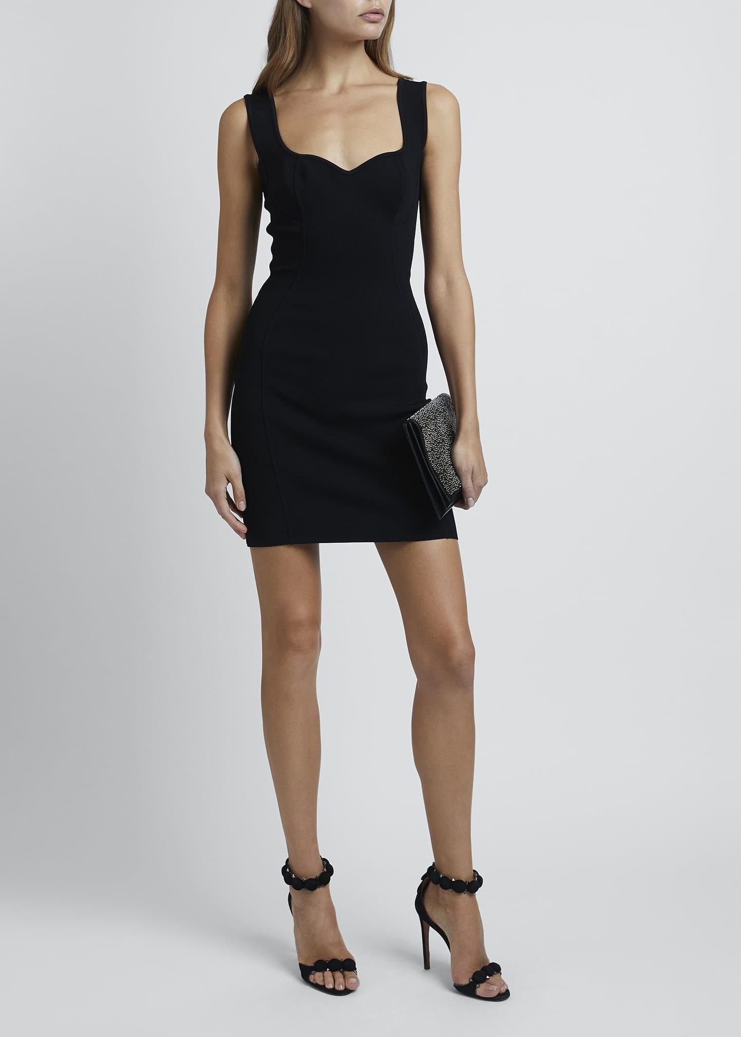 ALAIA Corset Sleeveless Bodycon Dress
