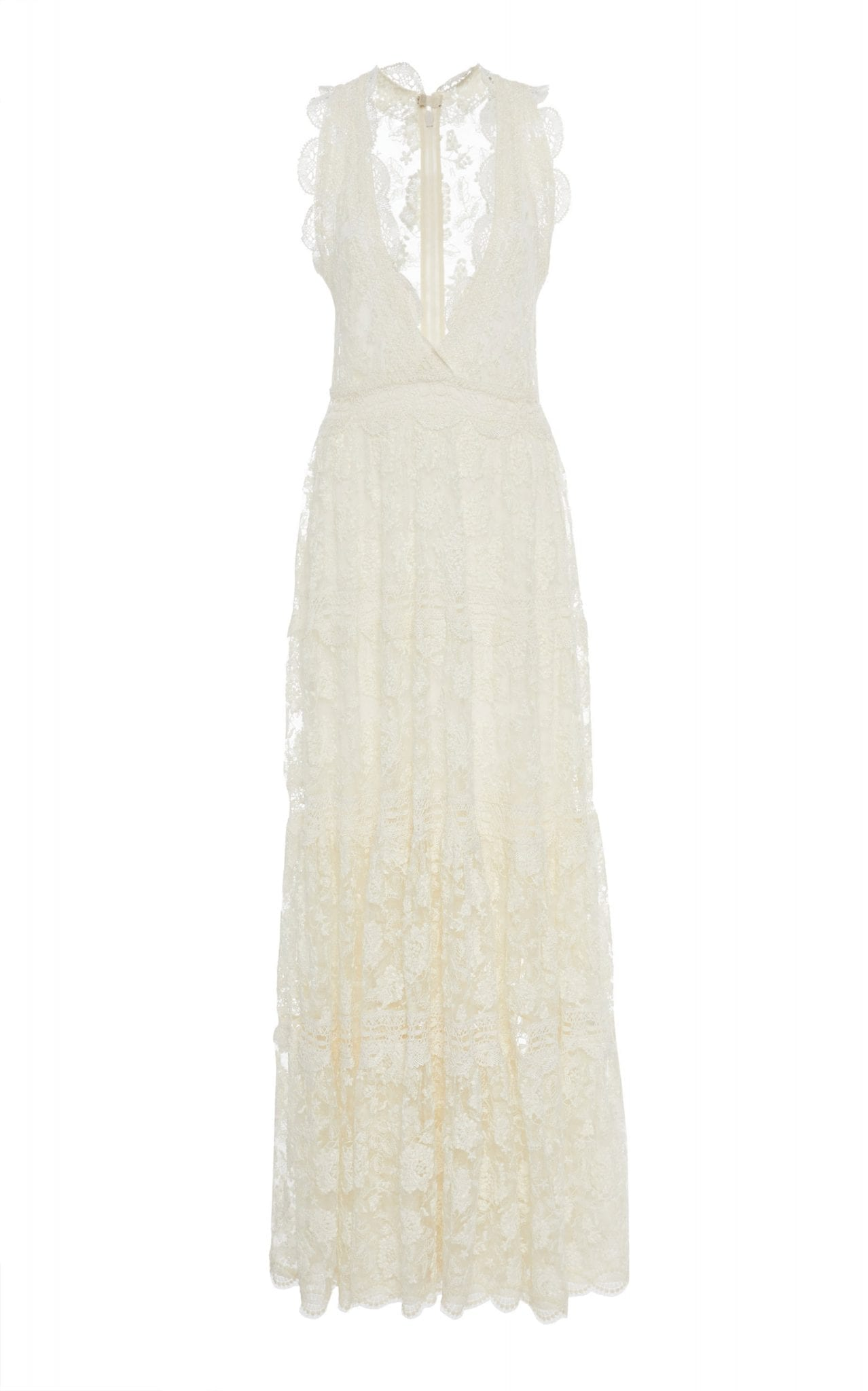 ALEXIS Havana Lace Maxi Dress