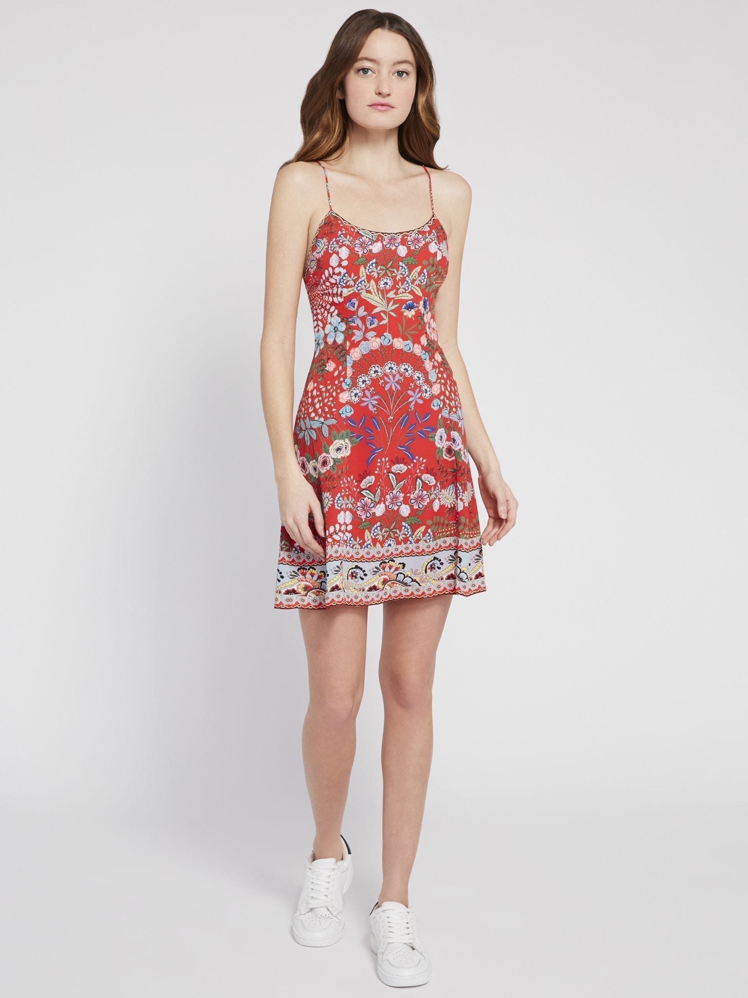 ALICE AND OLIVIA Ira Floral Mini Dress