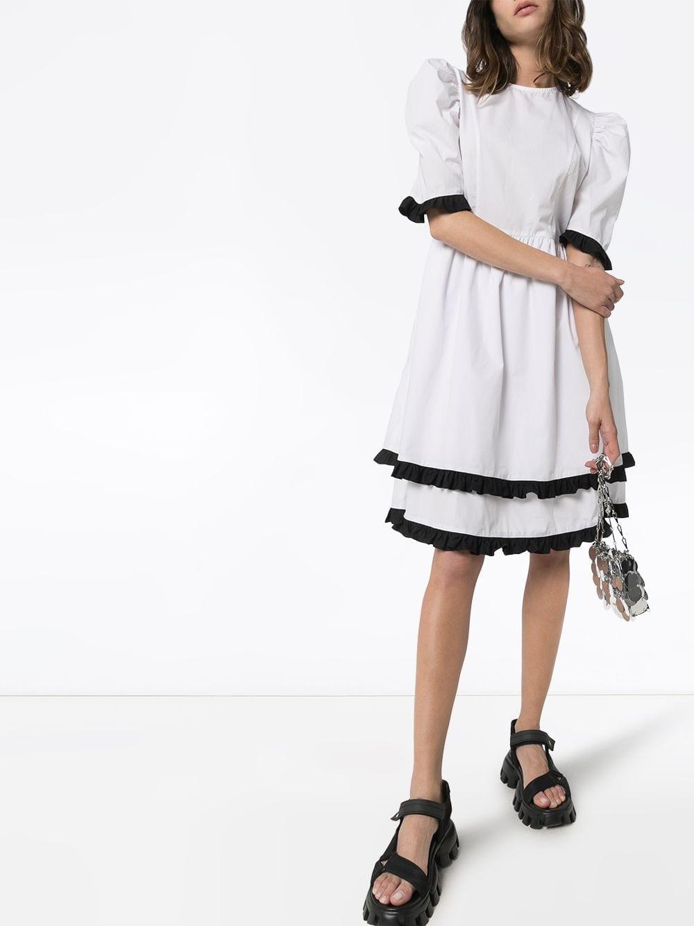 BATSHEVA Spring Prairie Knee-length Dress