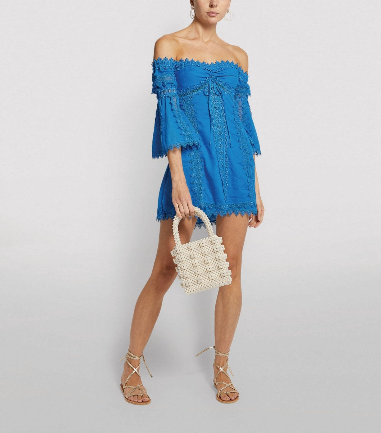 CHARO RUIZ IBIZA Campana Off-The-Shoulder Dress