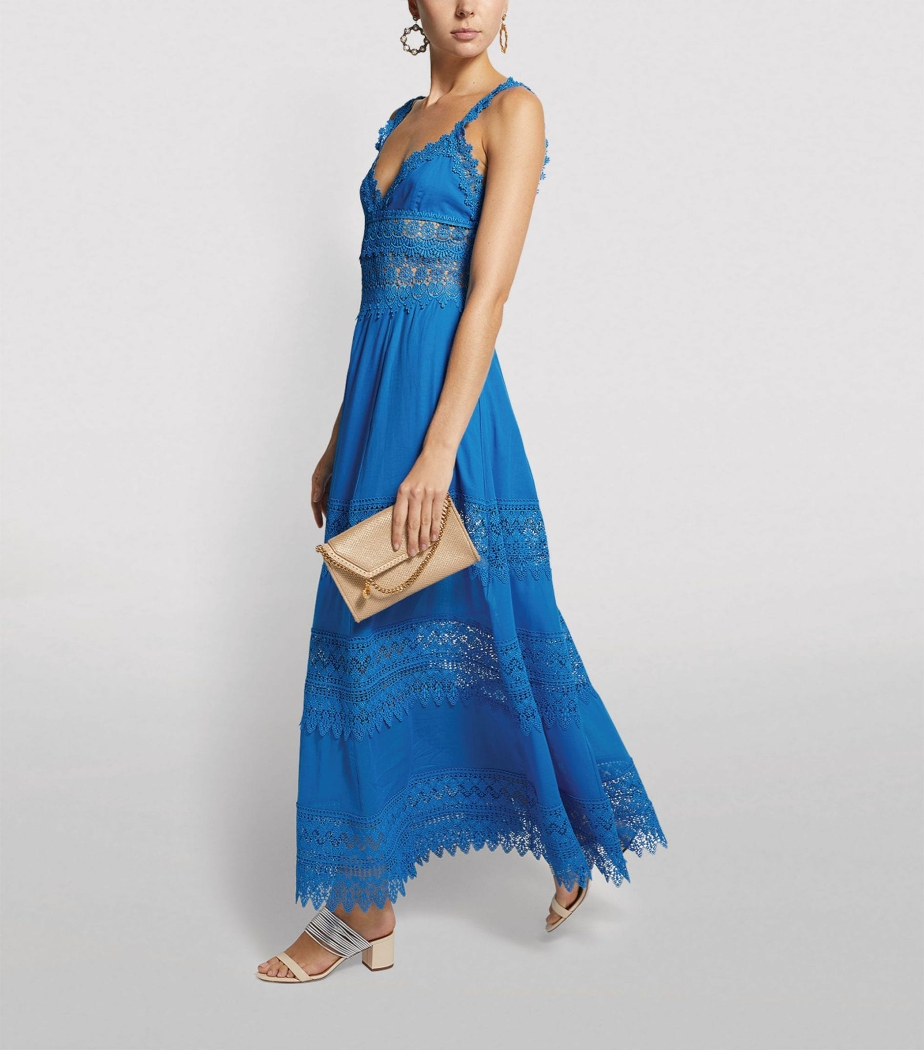 CHARO RUIZ IBIZA Sophia Lace Maxi Dress