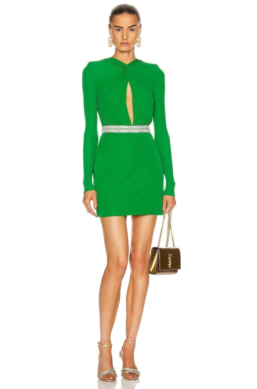 DUNDAS Keyhole Mini Dress