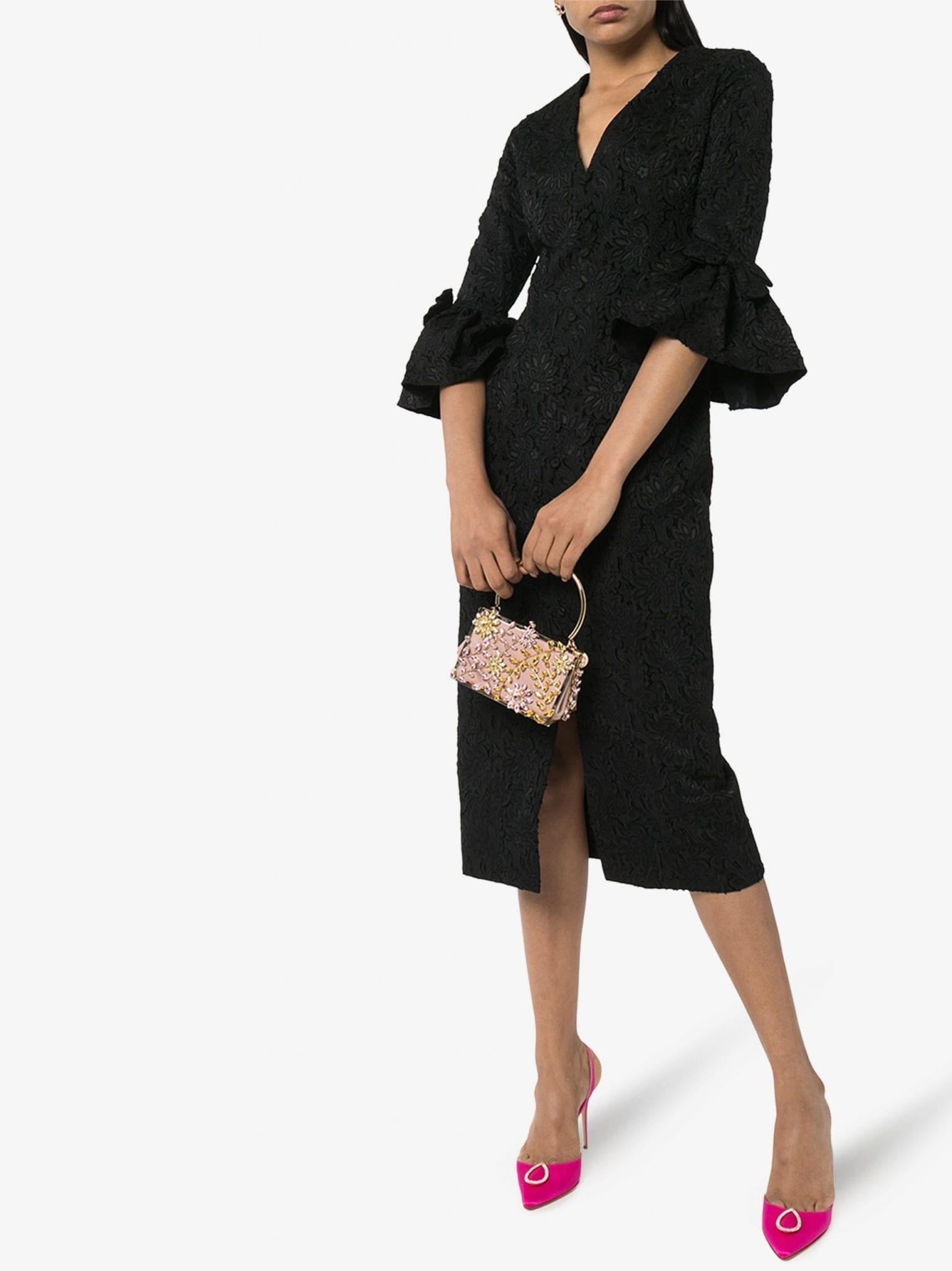 ERDEM Ninetta Jacquard Dress