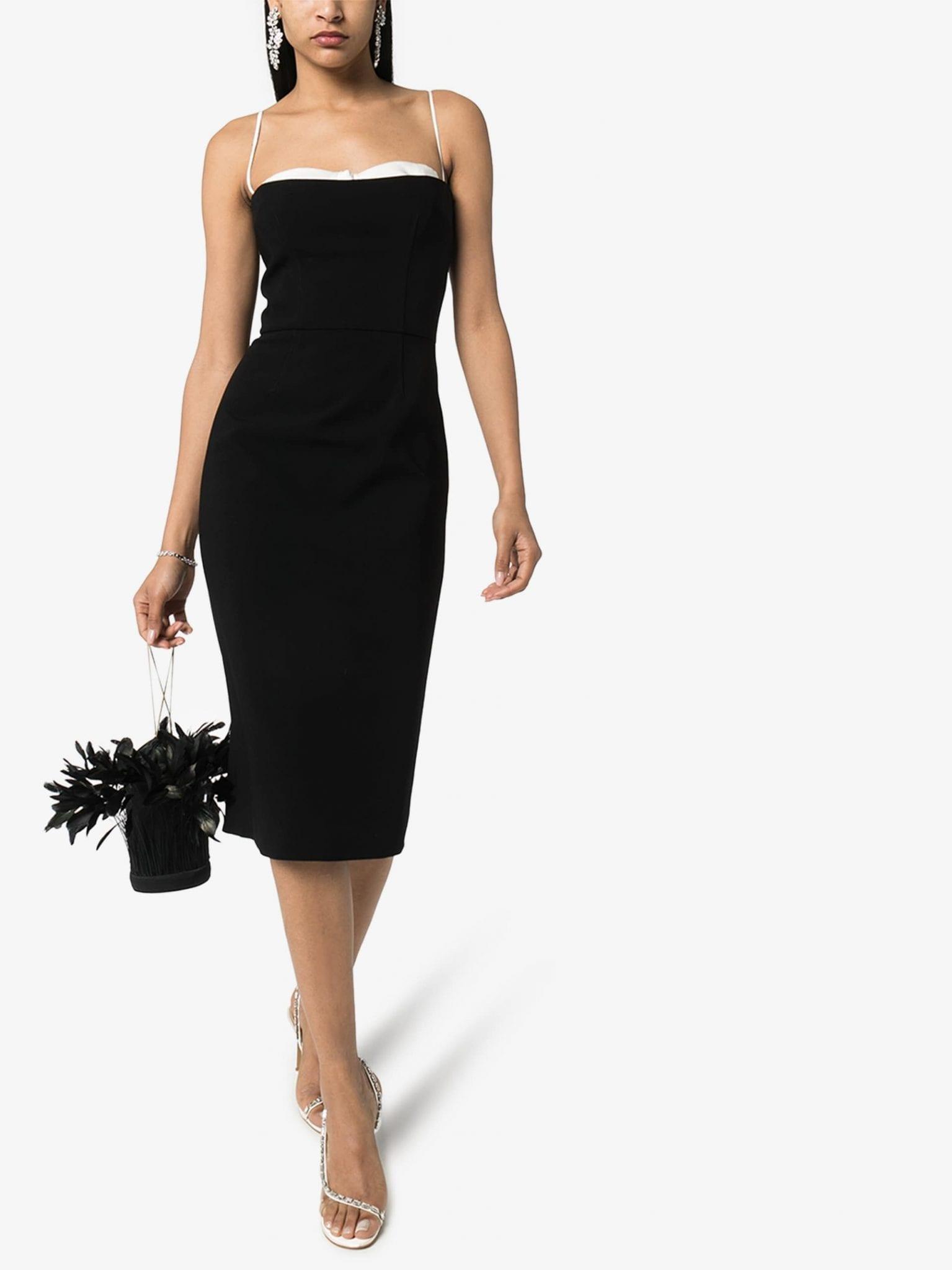 HANEY Meg Layered Bustier Dress