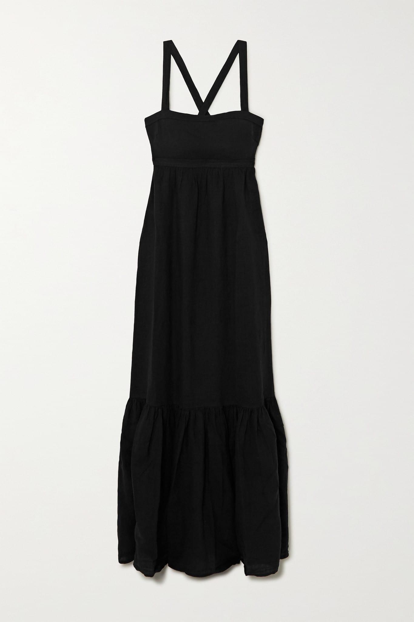 HONORINE Athena Tiered Maxi Dress