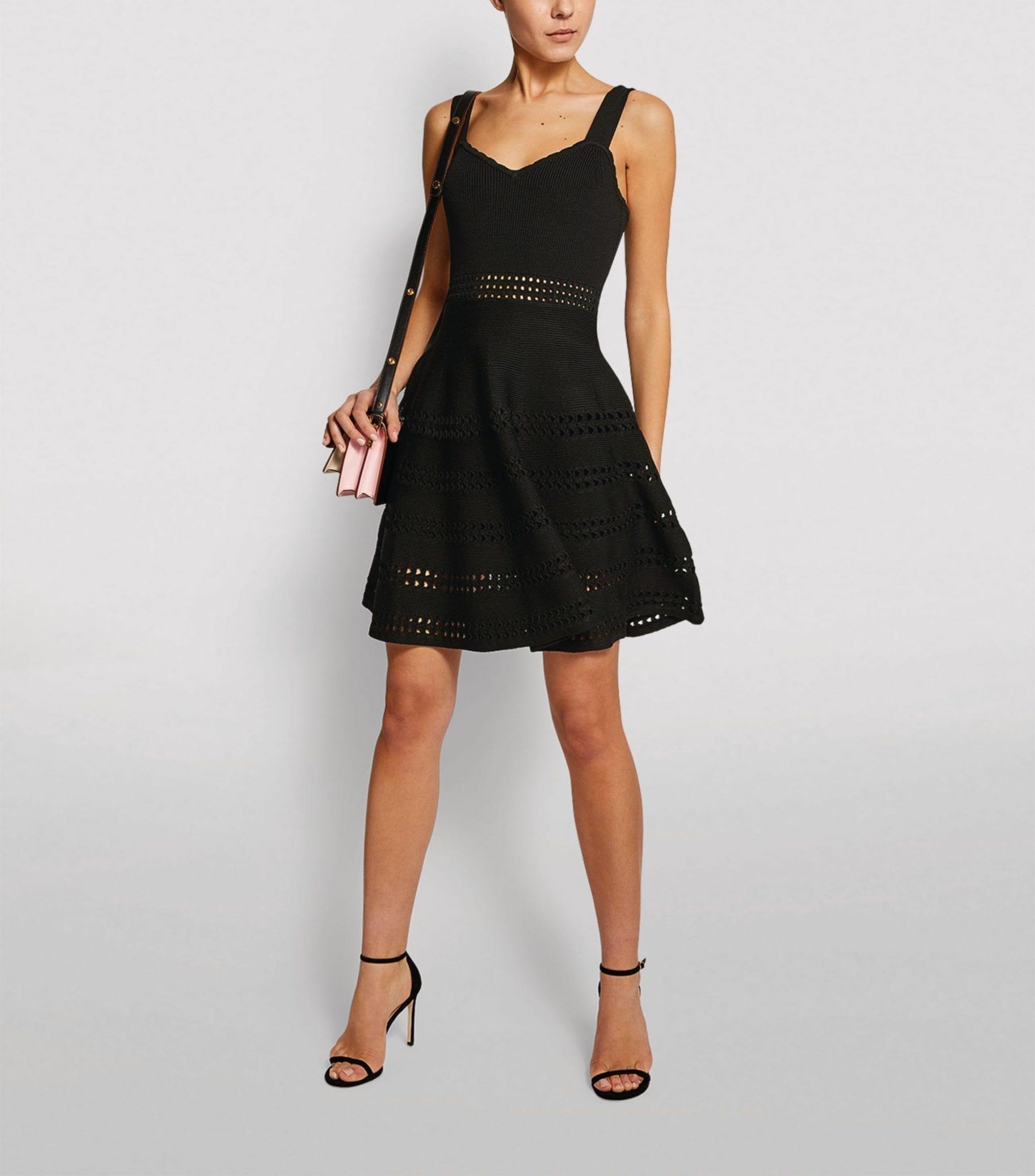 MAJE Cut-Out A-Line Dress