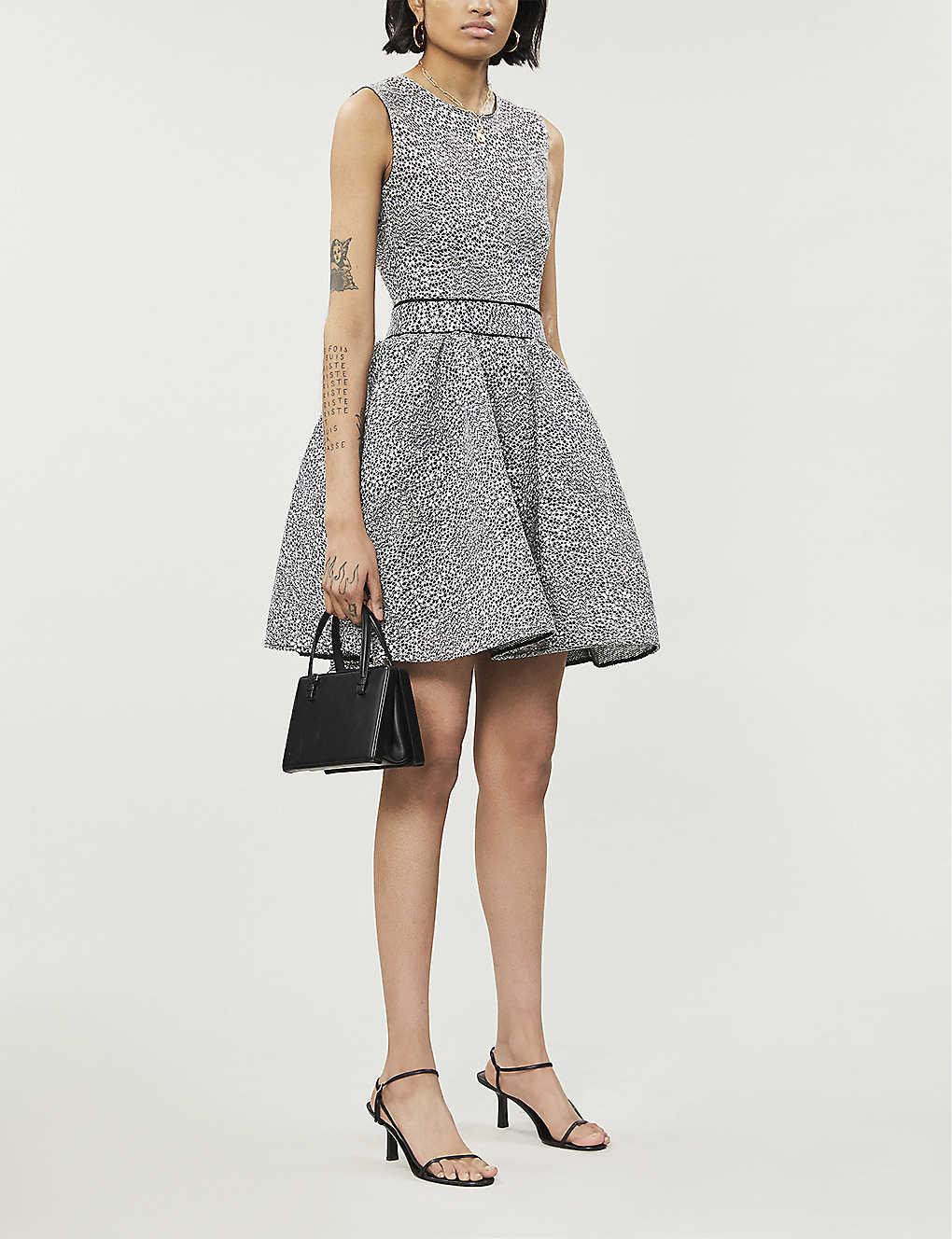 MAJE Reinatta Woven Mini Dress
