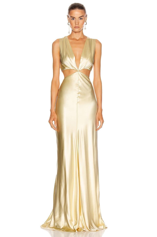 MARKARIAN Monaca Cut Out Gown