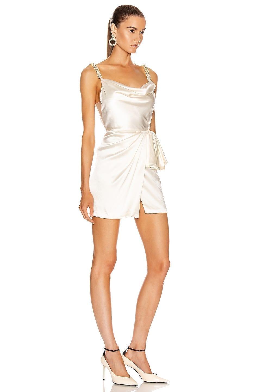 MARKARIAN Rosetta Mini Wrap Dress