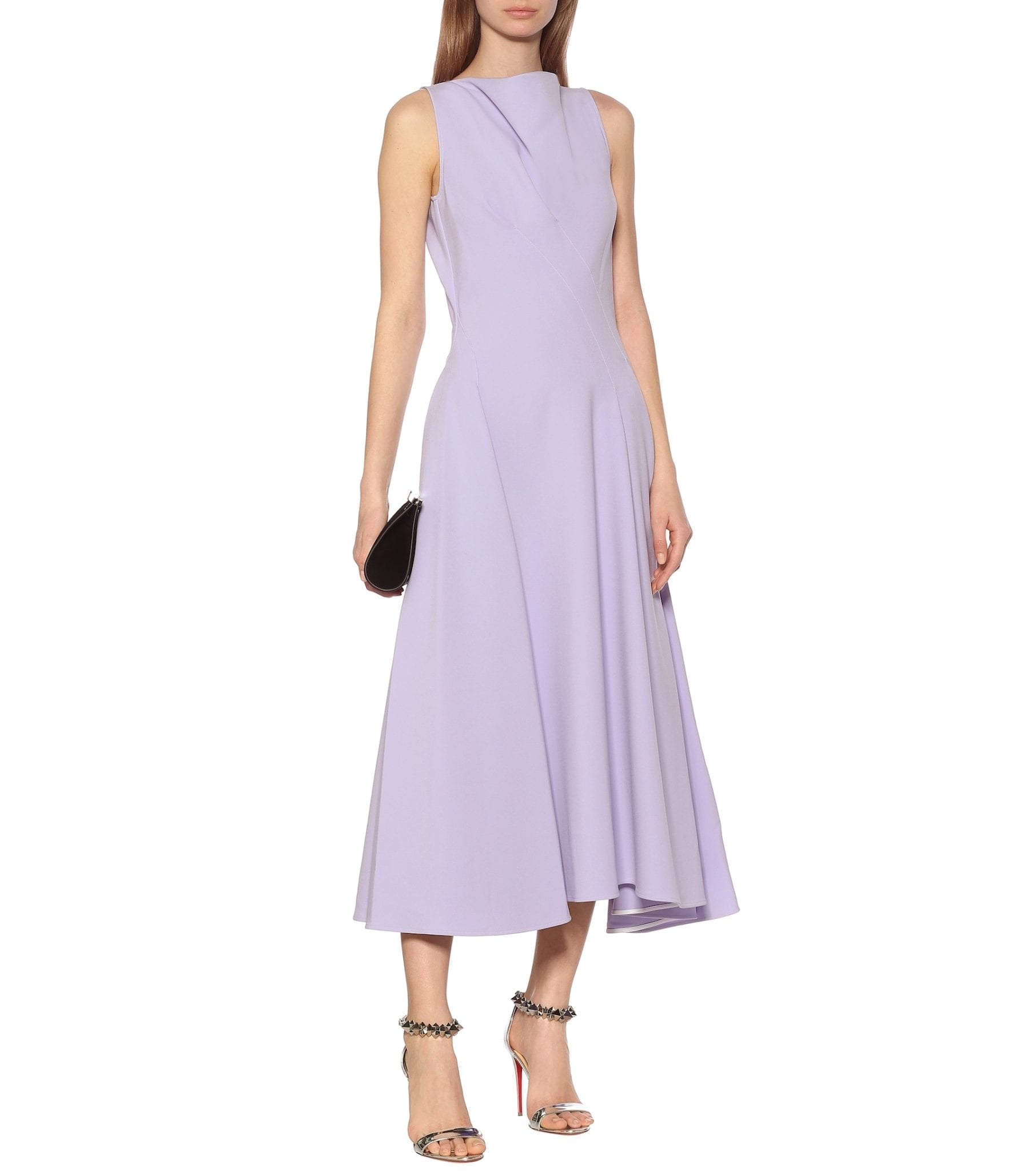 MATICEVSKI Assured Swing Crêpe Midi Dress