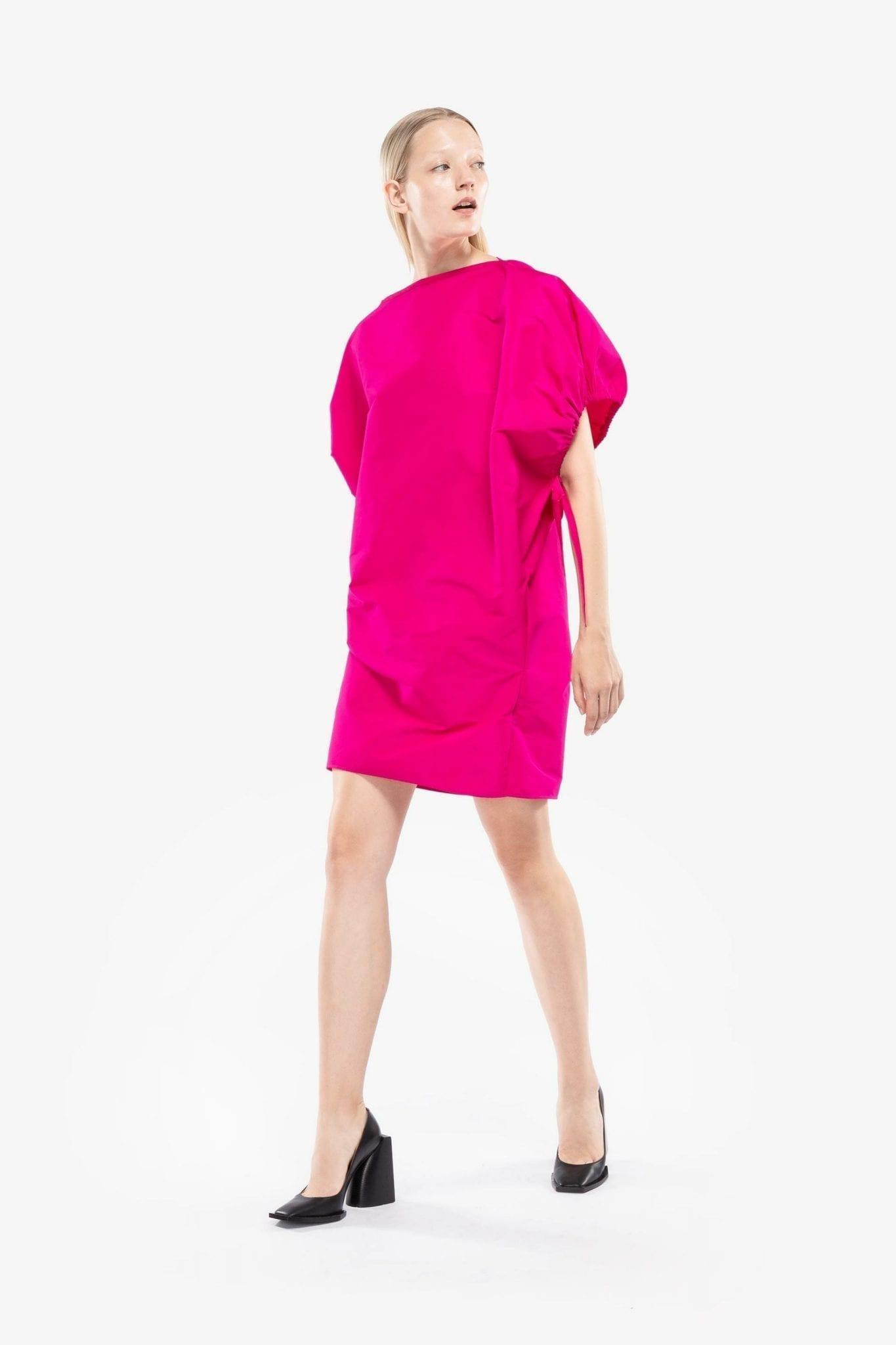 N20 Balloon Sleeve Mini Dress