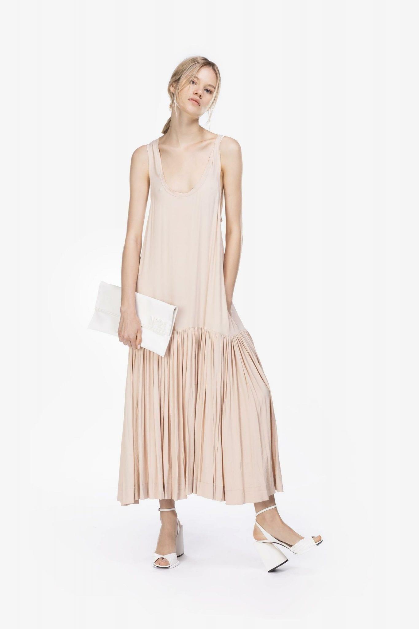 N20 Dropped Waist Midi Dress