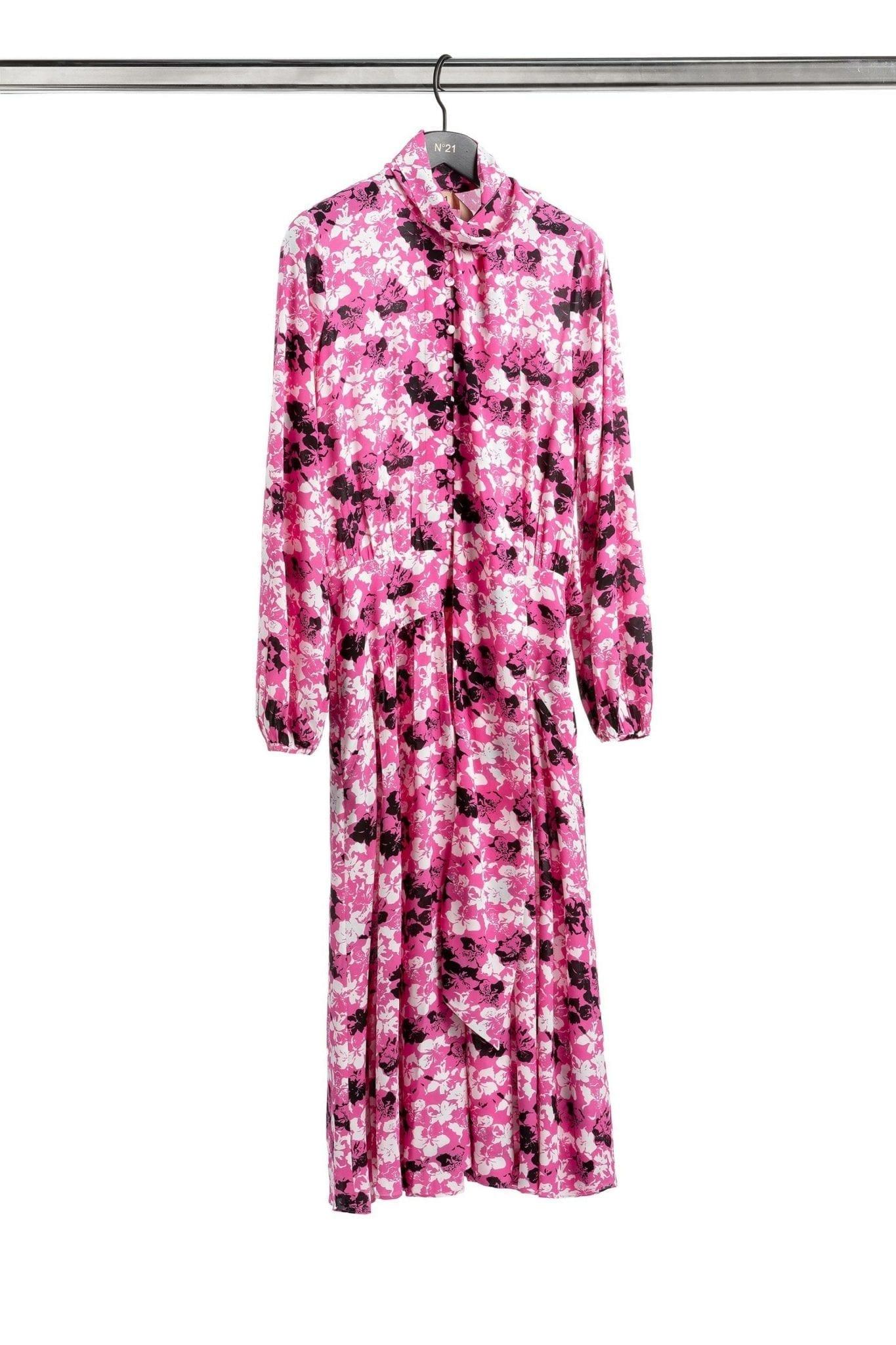 N20 Floral Scarf Detail Dress