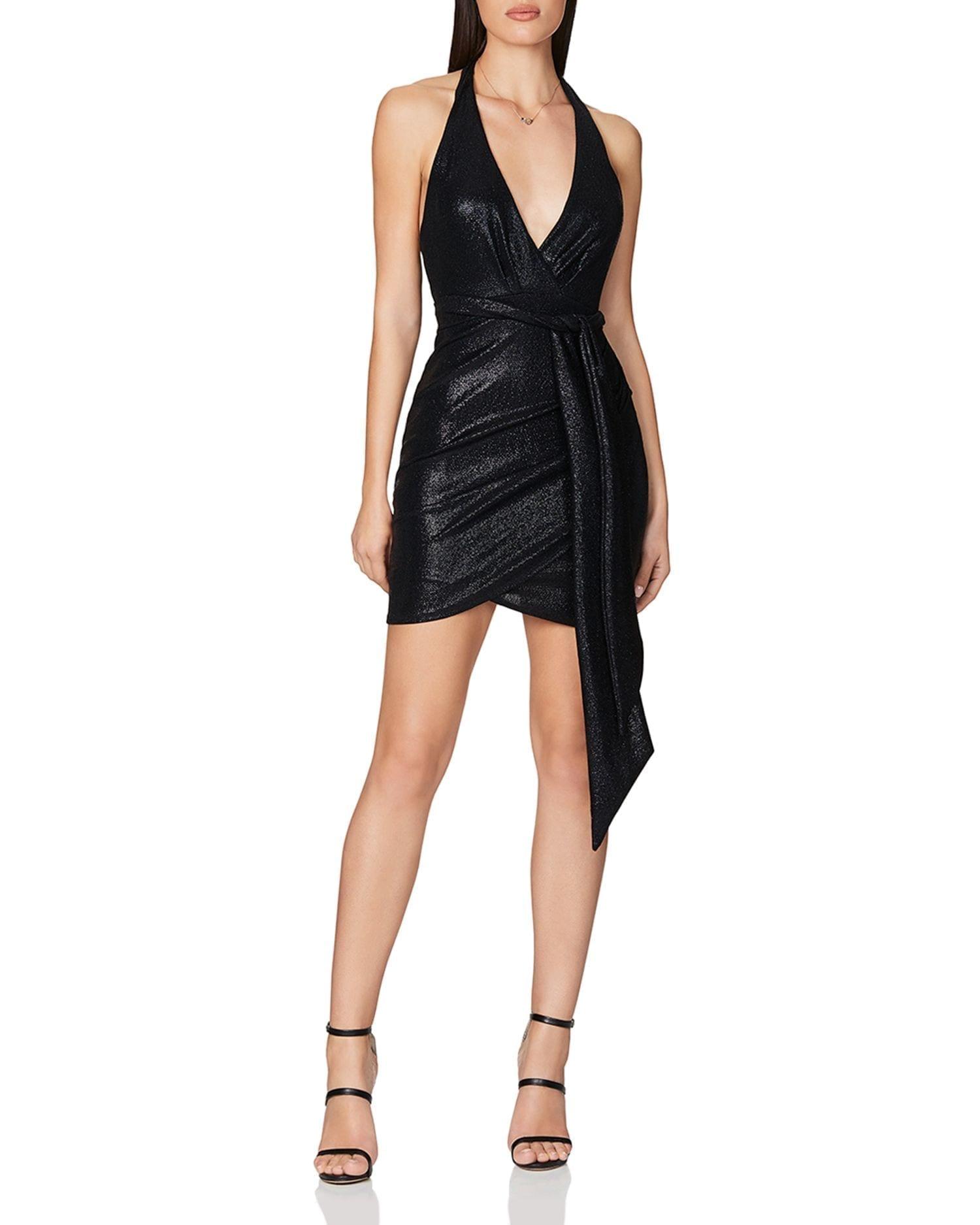 NOOKIE Bellagio Metallic Sequin Bodycon Dress
