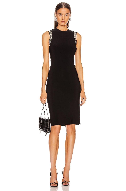 NORMA KAMALI For FWRD Studded Open Back Dress