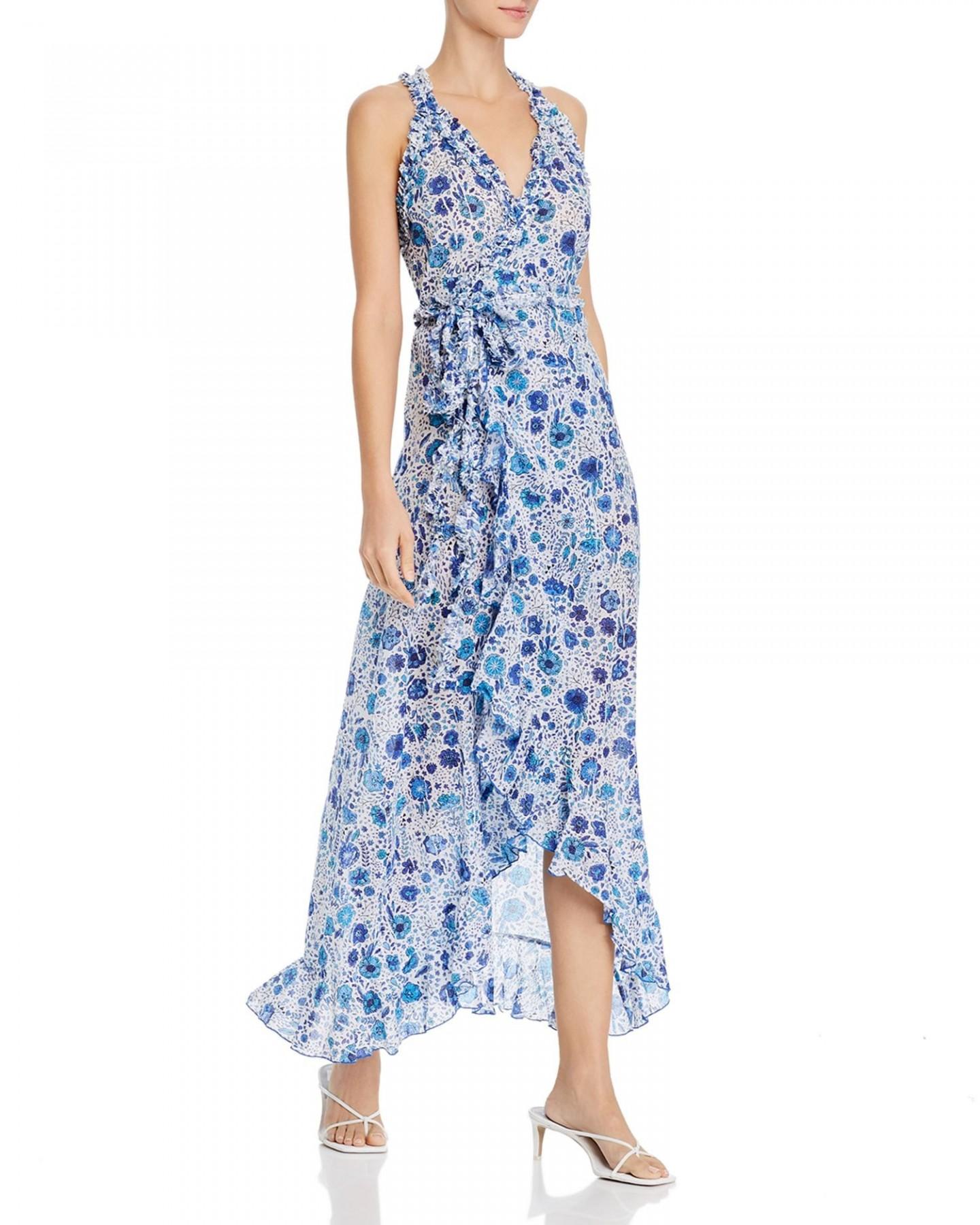 POUPETTE ST. BARTH Floral-Print Maxi Dress